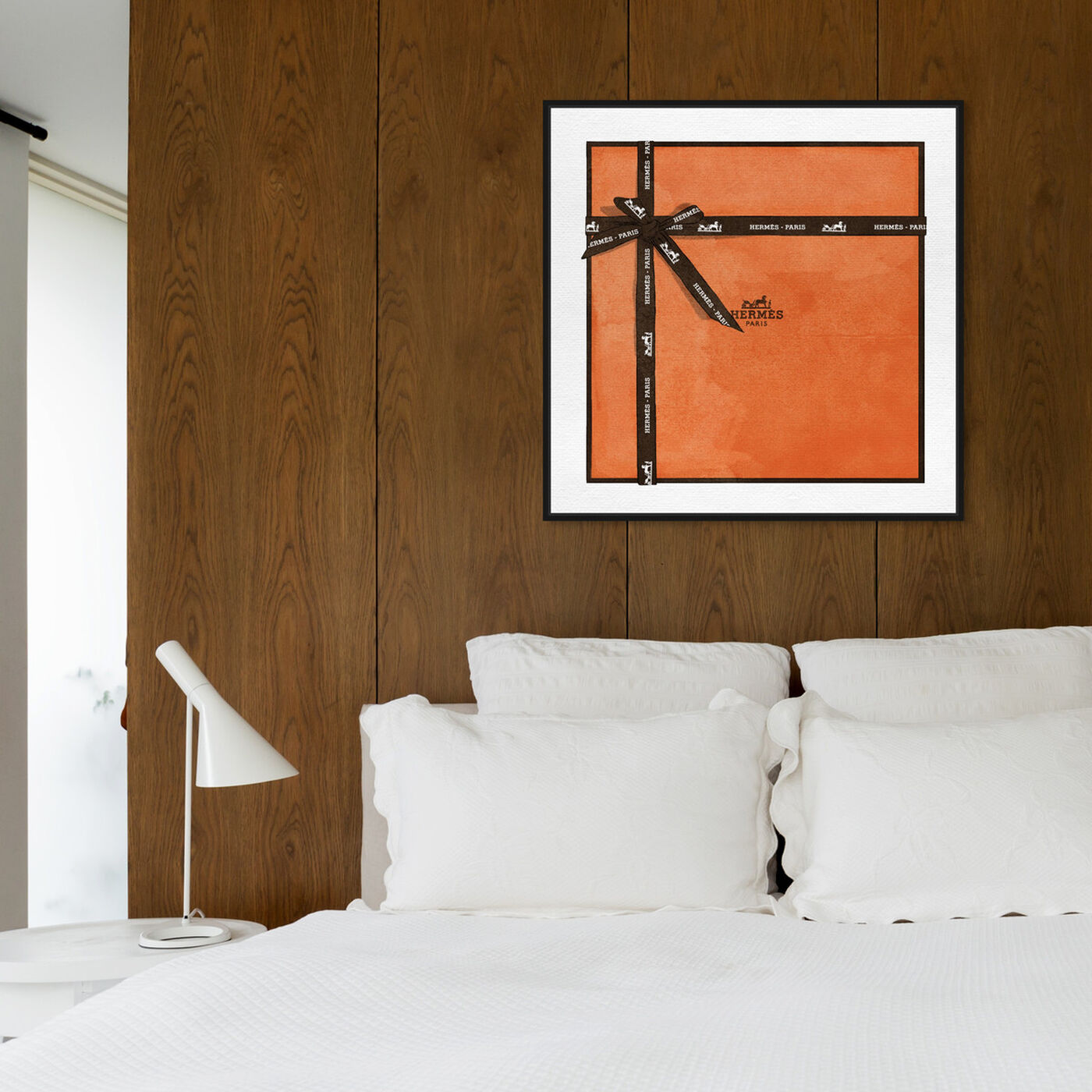 Hanging view of Perfect Orange Gift featuring fashion and glam and lifestyle art.