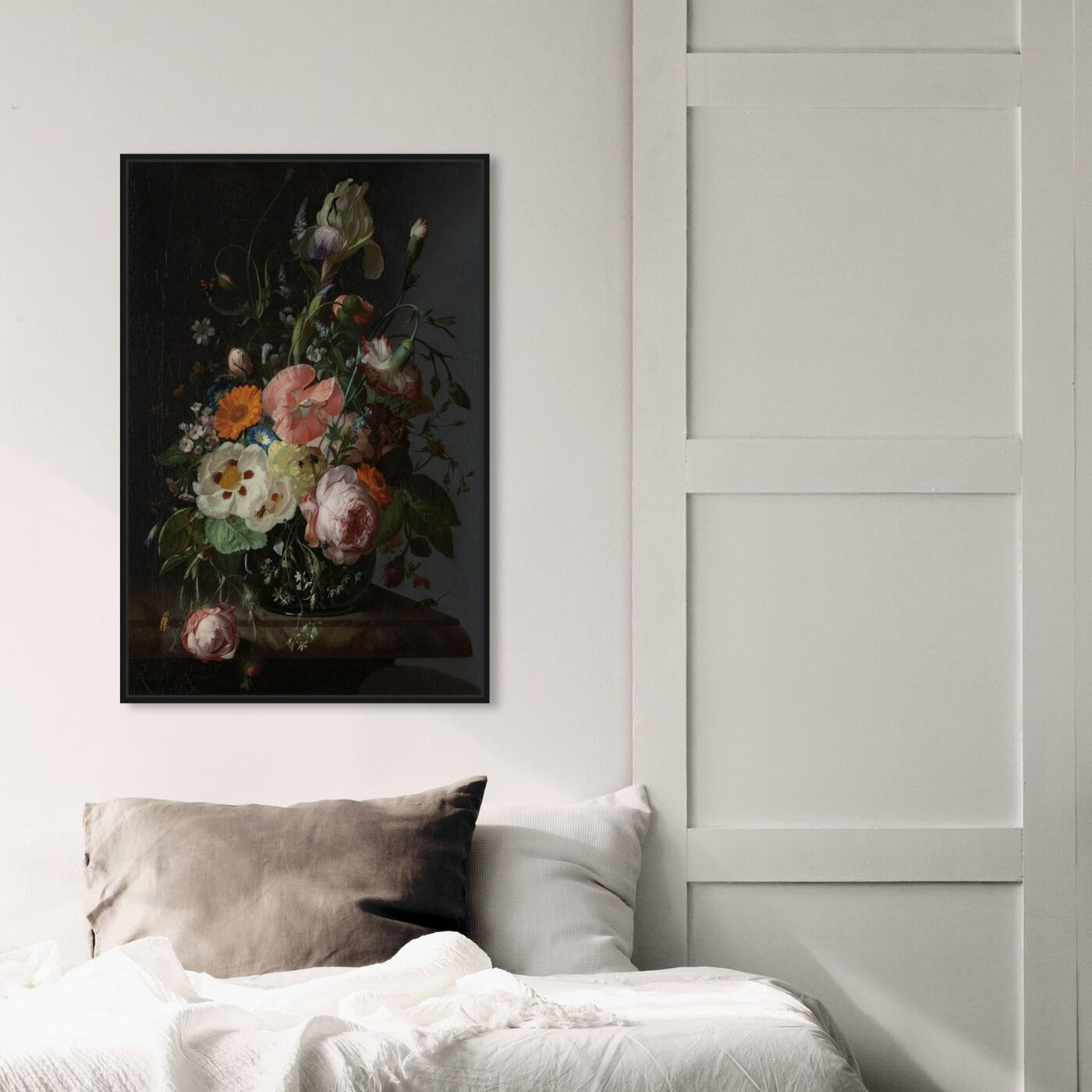 Hanging view of Flower Arrangement IV - The Art Cabinet featuring classic and figurative and french décor art.