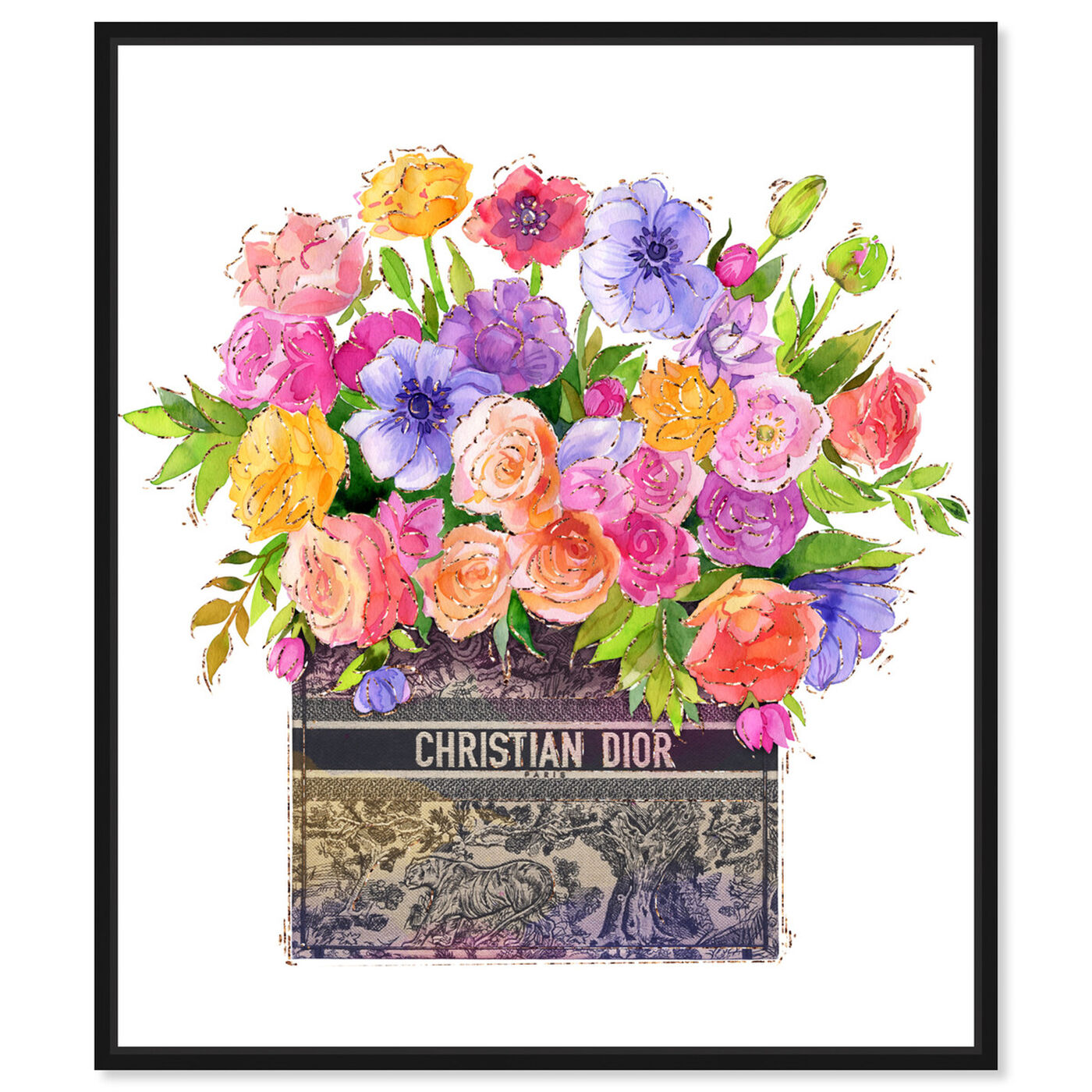 Front view of Colors For You featuring floral and botanical and florals art.