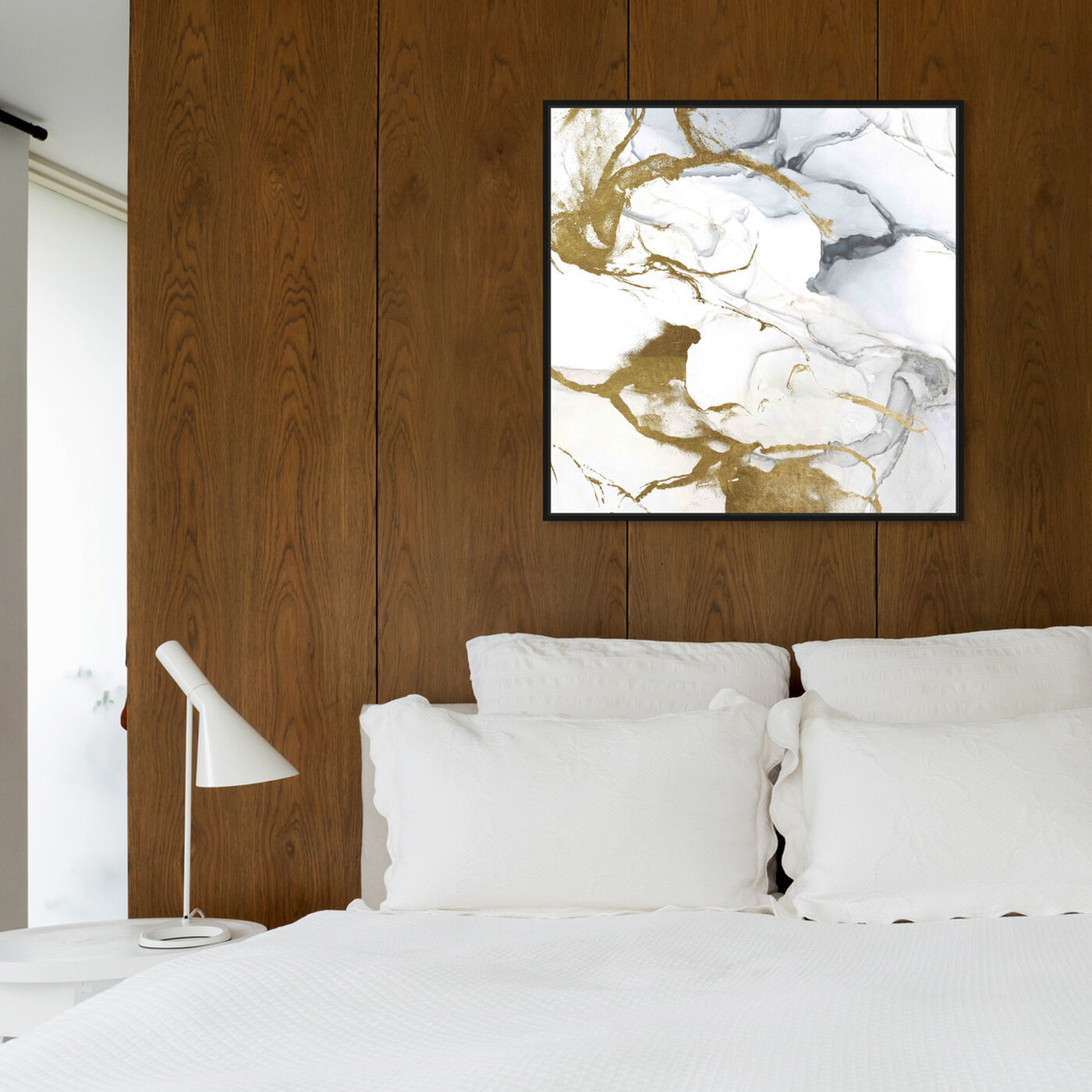 Hanging view of Love Marble featuring abstract and crystals art.