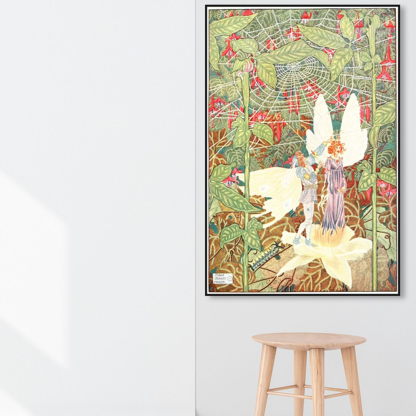 Hanging view of Andersen Fairy Tales II featuring fantasy and sci-fi and fairy tales art.
