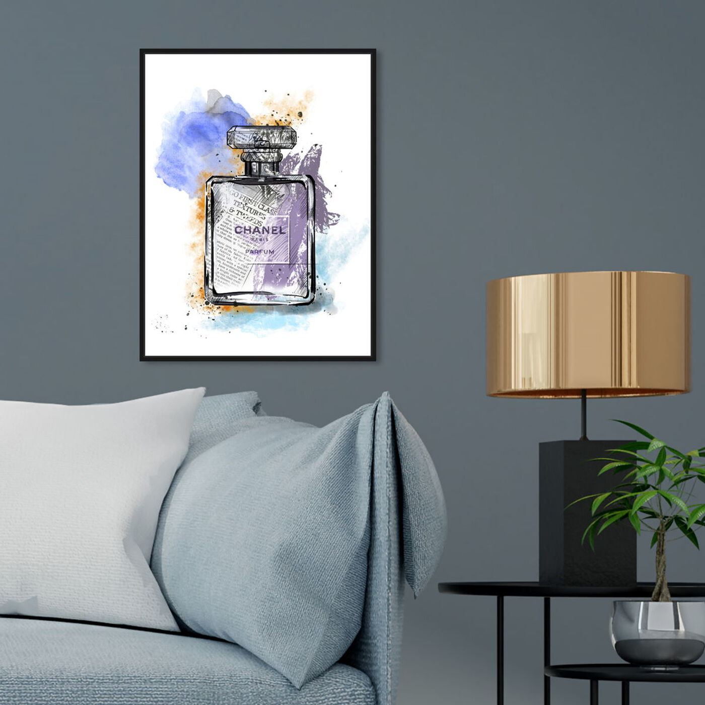 Hanging view of Scented News featuring fashion and glam and perfumes art.