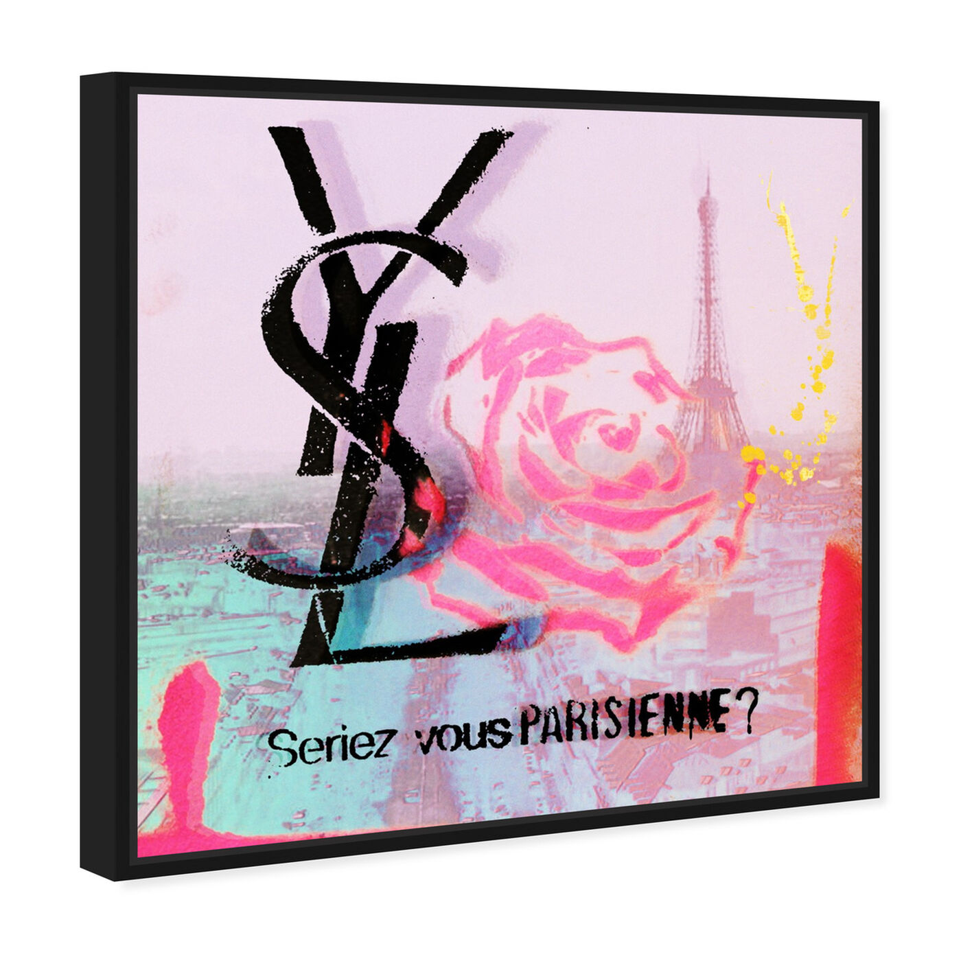 Angled view of Parisienne featuring fashion and glam and lifestyle art.
