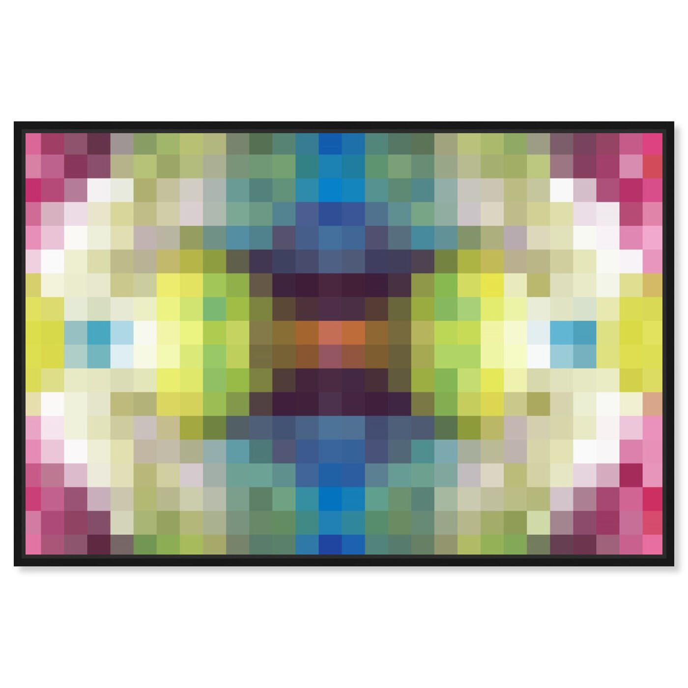 Front view of Candy Store Pixel featuring abstract and textures art.