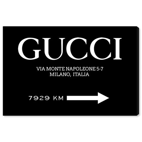 Italia Road Sign BW