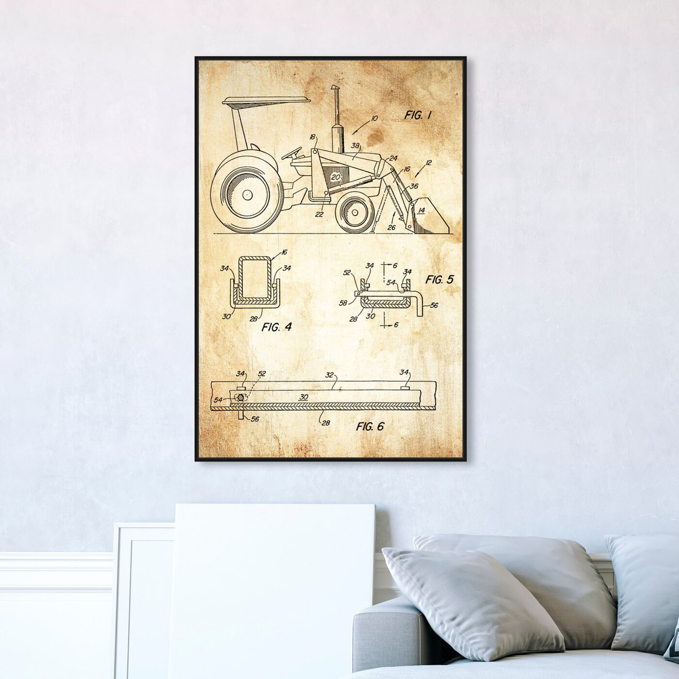 Hanging view of Traktor featuring transportation and trucks and busses art.