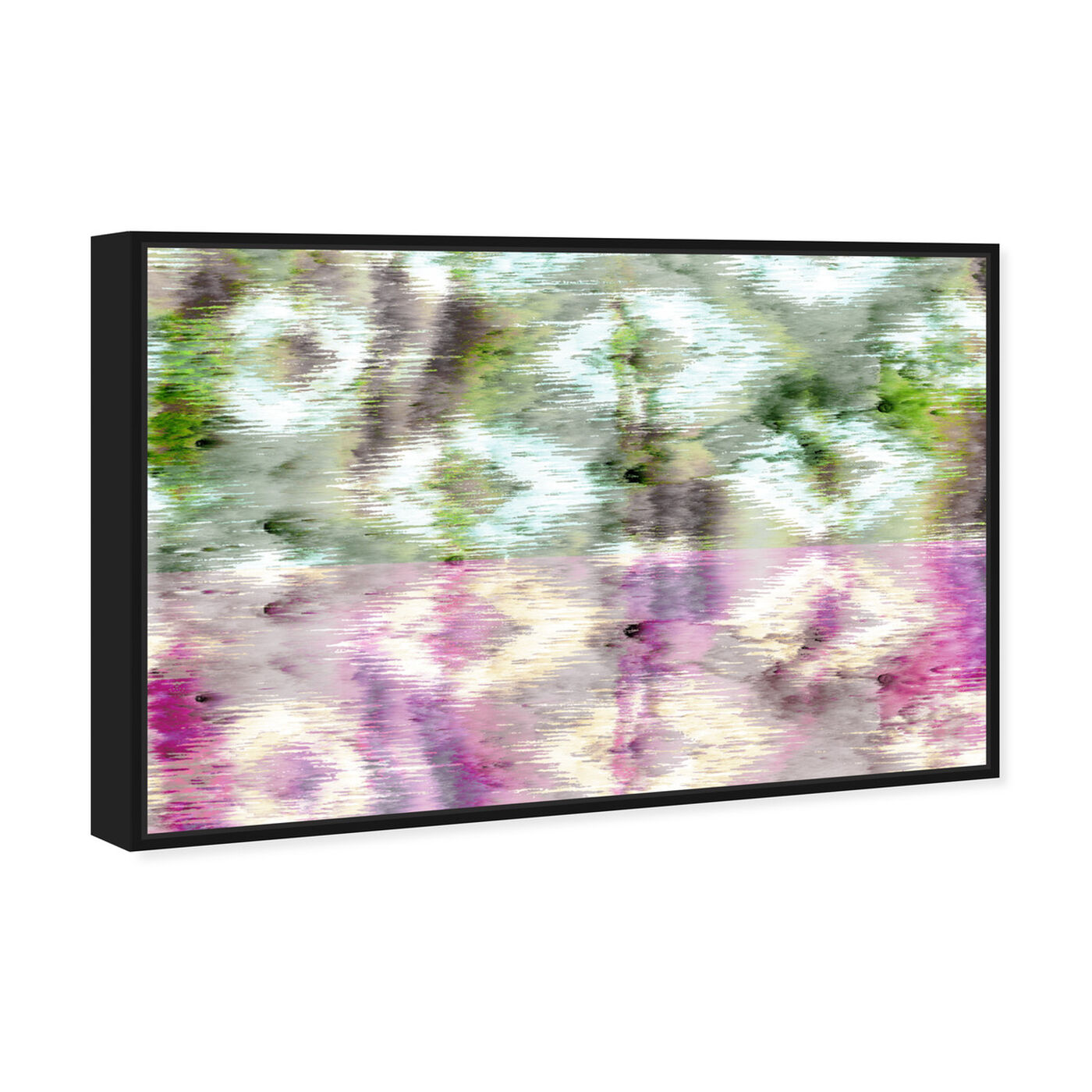 Angled view of Morning Rain featuring abstract and patterns art.