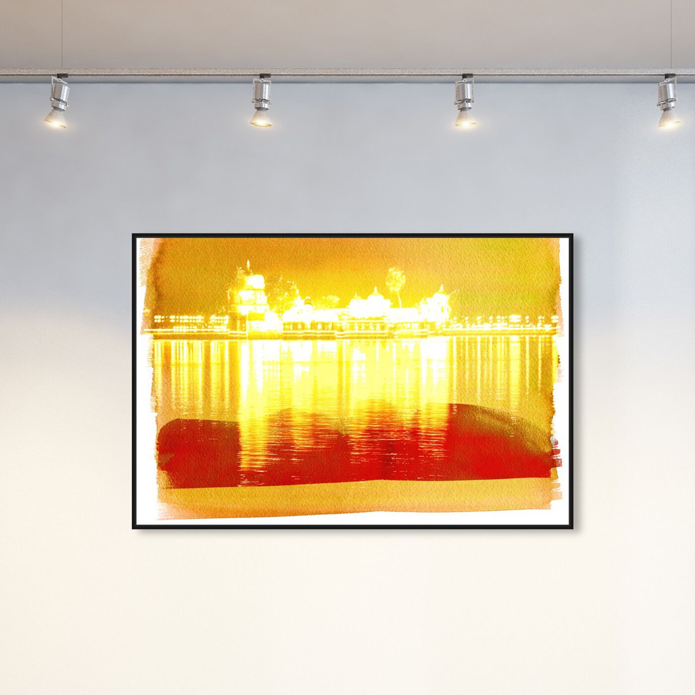Hanging view of Amritsar featuring world and countries and asian countries art.