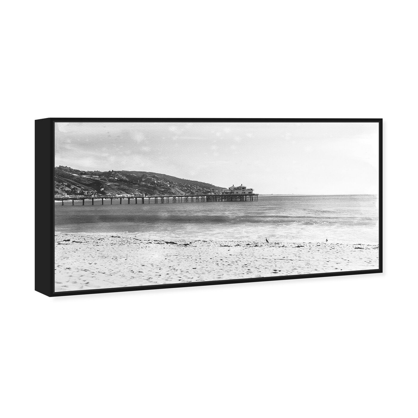 Angled view of On The Pier featuring nautical and coastal and coastal landscapes art.