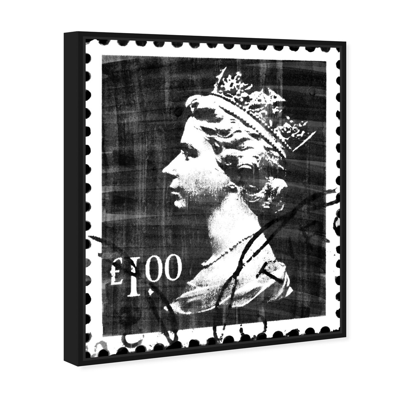 Angled view of Save The Queen Two featuring advertising and posters art.