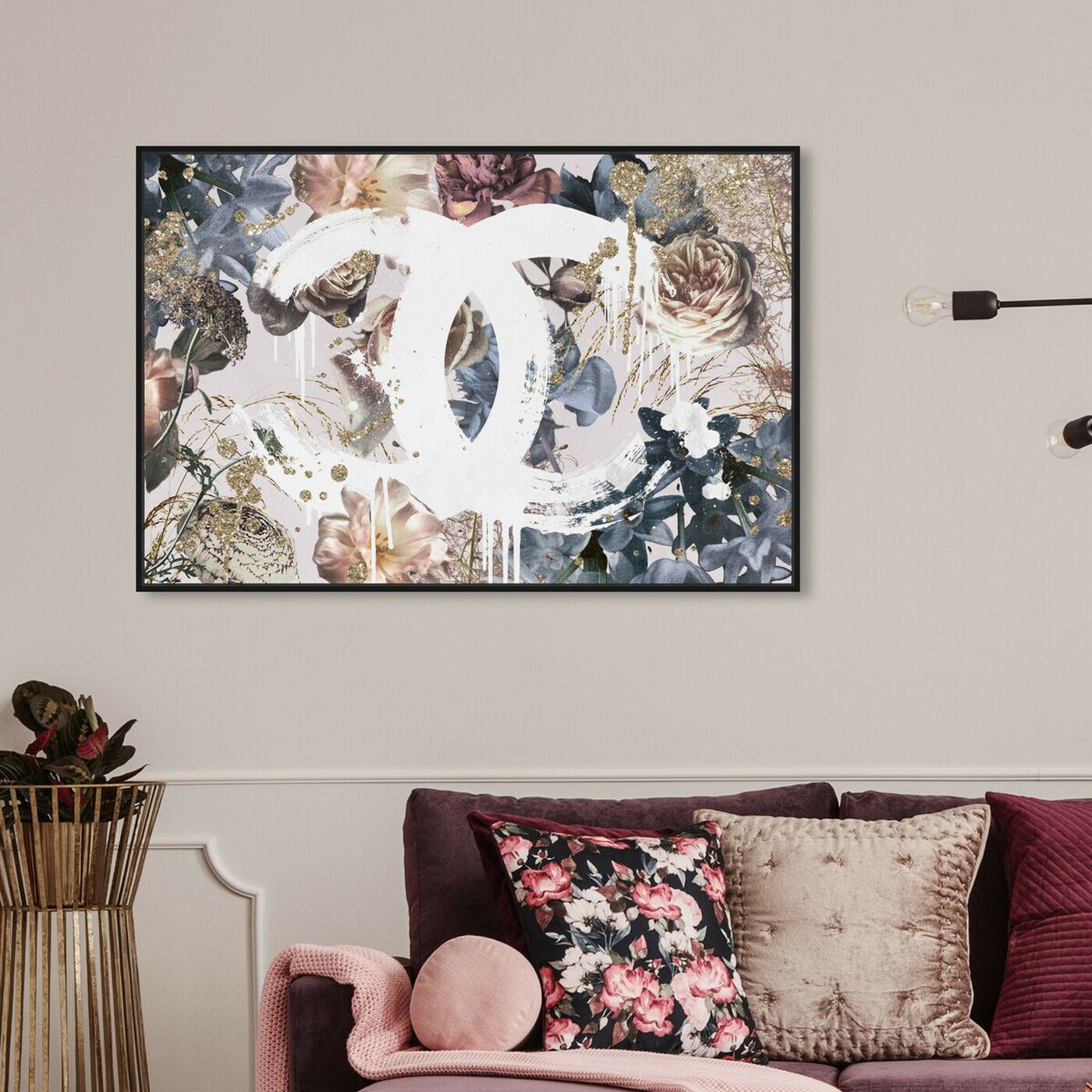 Hanging view of Soft Dutch Couture featuring fashion and glam and lifestyle art.