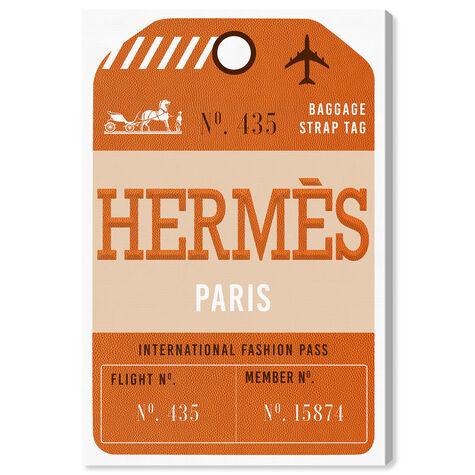 Paris Fashion Luggage Tag