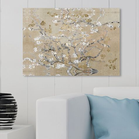 Van Gogh in Gold Blossoms Inspiration