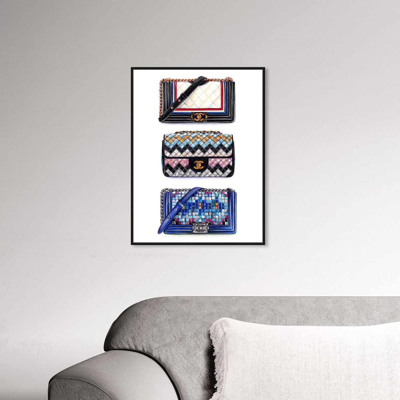 Hanging view of Doll Memories - Le Resort Collection featuring fashion and glam and handbags art.
