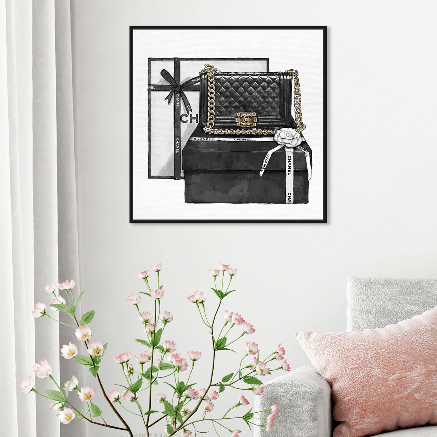 Hanging view of Gifted Beauty featuring fashion and glam and handbags art.