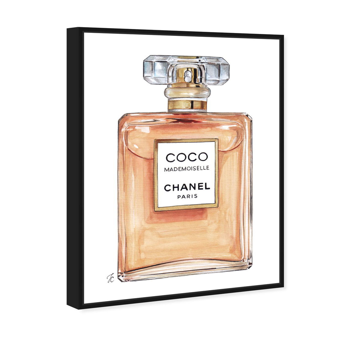 Angled view of Doll Memories -Coco Mademoiselle featuring fashion and glam and perfumes art.