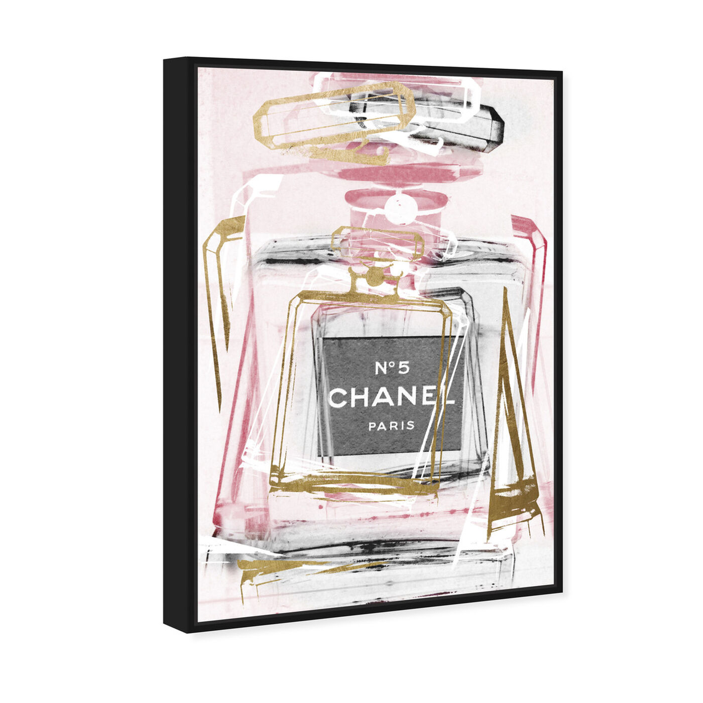 Angled view of Infinite Glam Blush featuring fashion and glam and perfumes art.