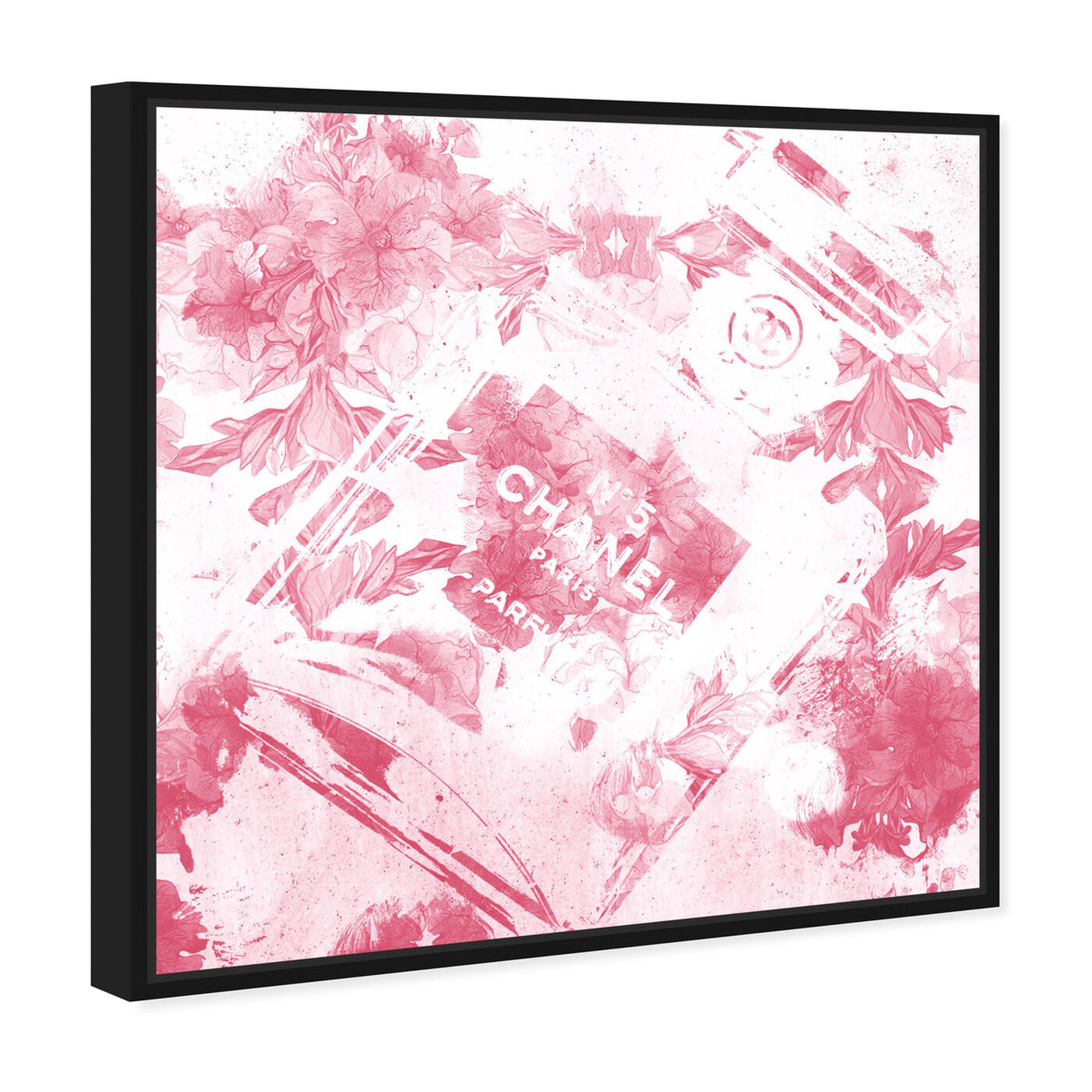 Angled view of Blush Flower Scent featuring fashion and glam and perfumes art.