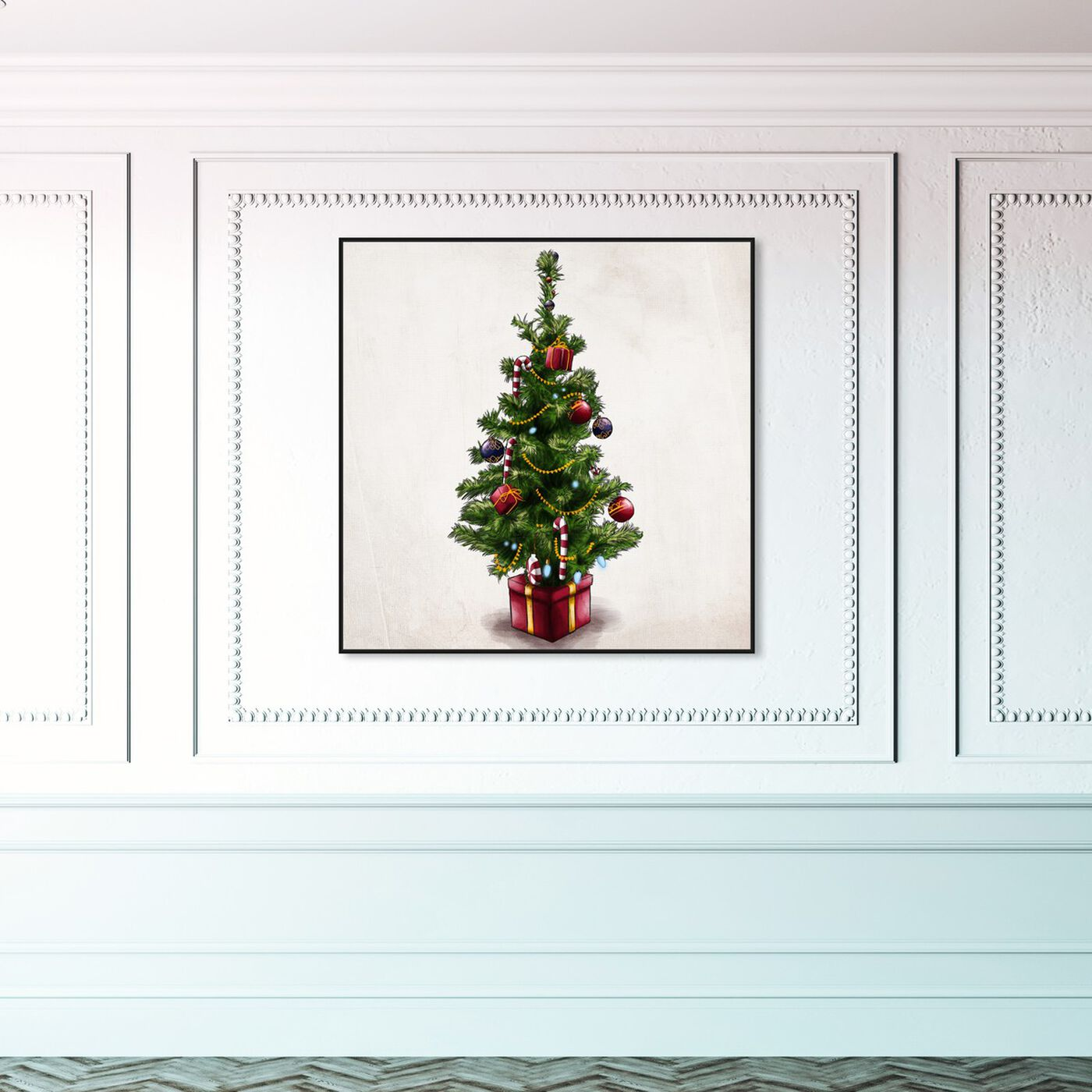 Hanging view of Beckon of Cheer featuring holiday and seasonal and holidays art.