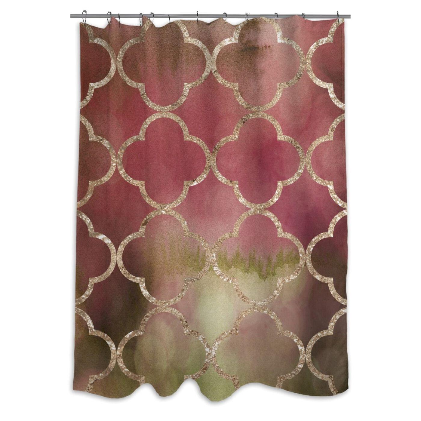 Vineyard Land Shower Curtain
