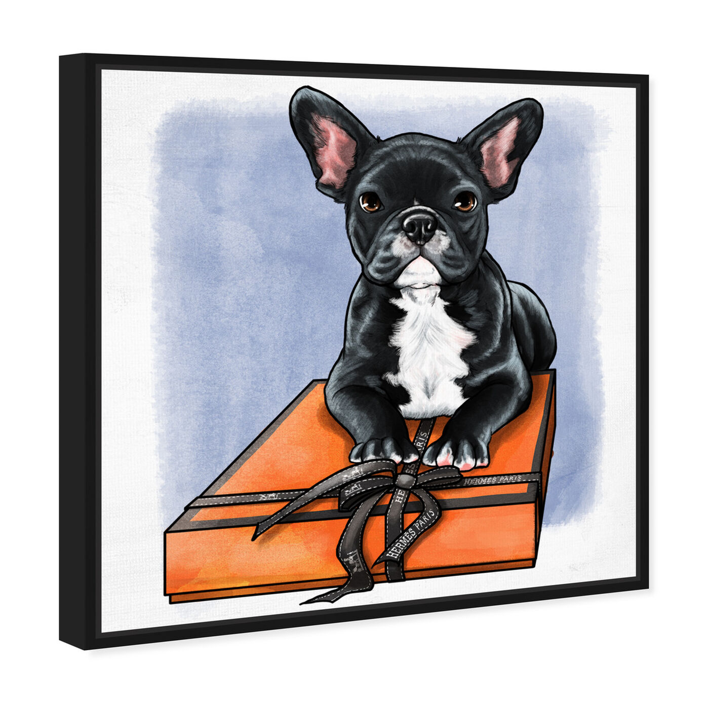 Angled view of Treasure Box Frenchie II featuring fashion and glam and fashion art.