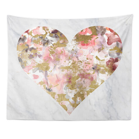Wilderness Hearted Tapestry Art