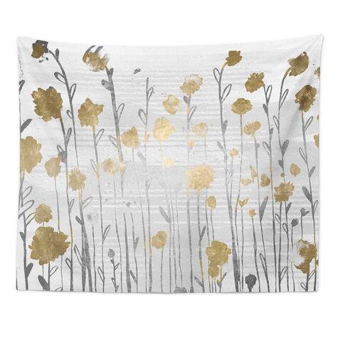 Floral Royal Garden Tapestry Art