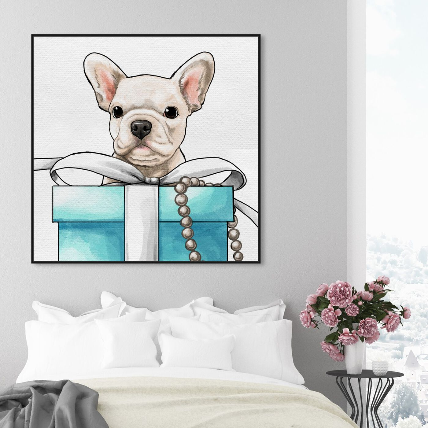 Hanging view of Fancy Jewel Puppy featuring fashion and glam and fashion art.