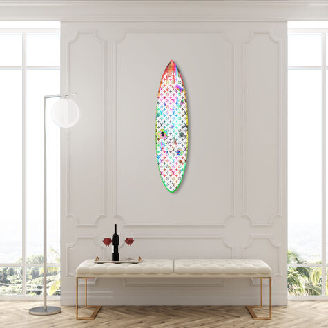 Explode Creativity Neon Surfboard