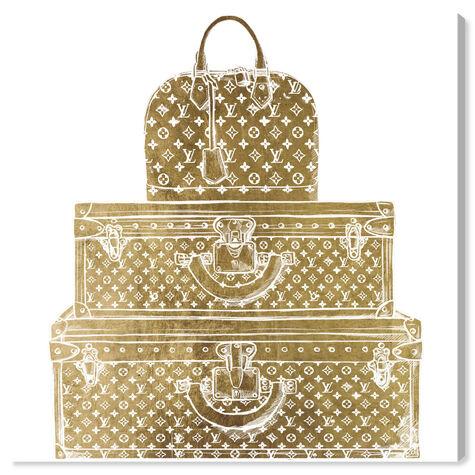 Royal Bag and Luggage Gold diecut