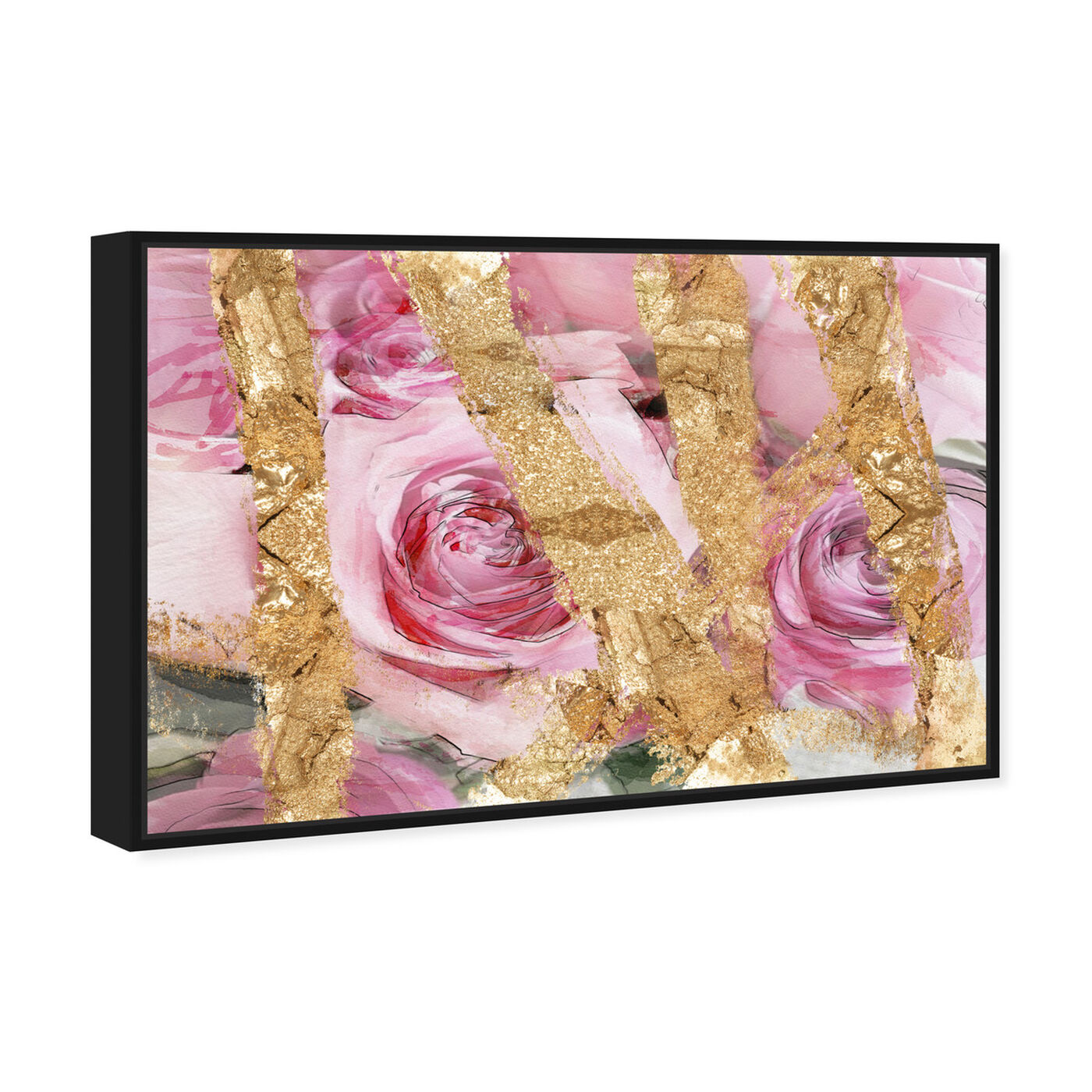 Angled view of Rose Garden featuring floral and botanical and florals art.