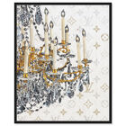Front view of Fancy Light II featuring fashion and glam and chandeliers art. image number null