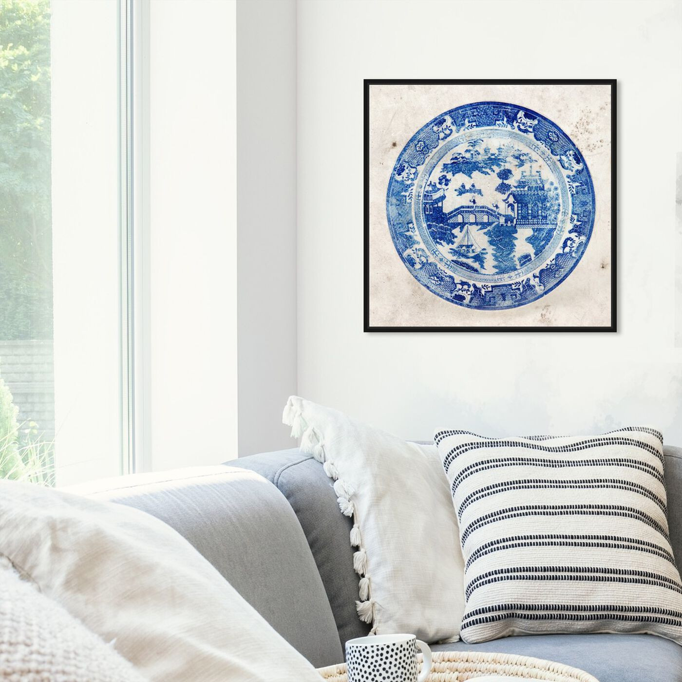 Hanging view of Fajans China featuring world and countries and asian cultures art.