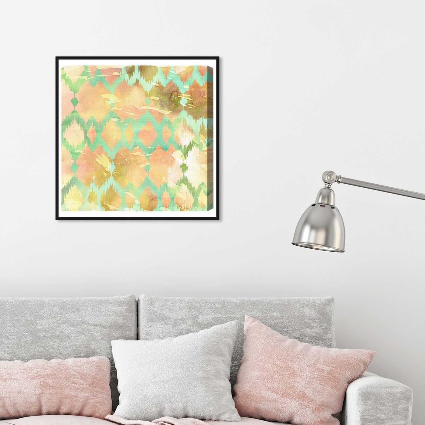 Hanging view of Musgo featuring abstract and patterns art.