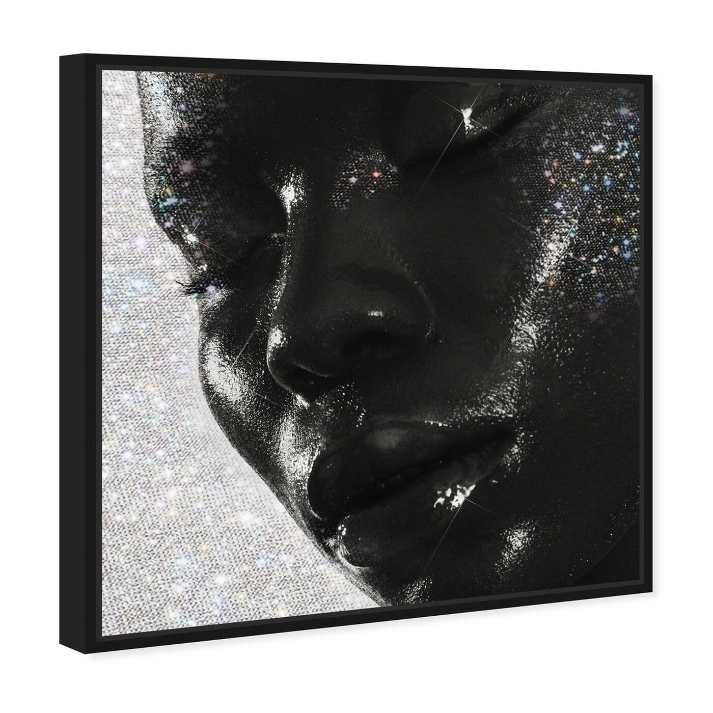 Angled view of Moment of Pure Bliss featuring fashion and glam and portraits art.