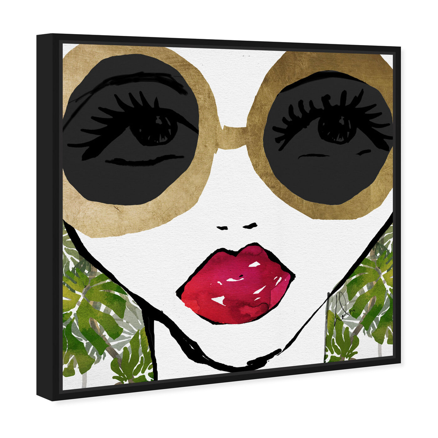 Angled view of Ready For The Jungle featuring fashion and glam and portraits art.