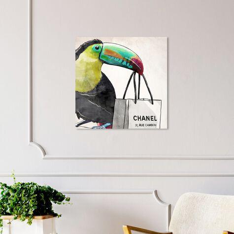 French Toucan Artwork