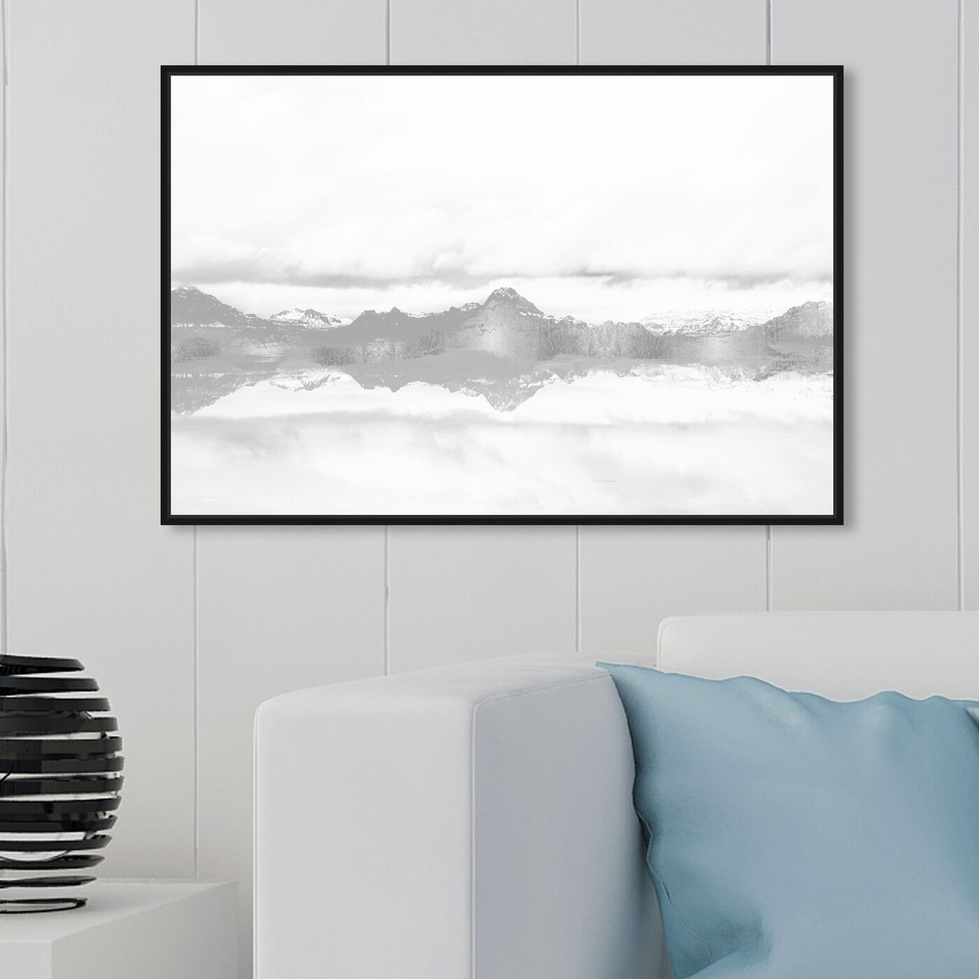 Hanging view of Stood Still and Wondered featuring nature and landscape and mountains art.