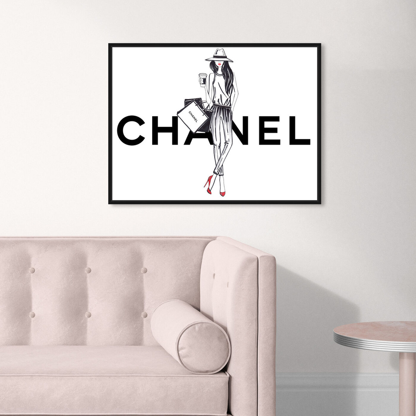 Hanging view of Doll Memories - Girl featuring fashion and glam and outfits art.