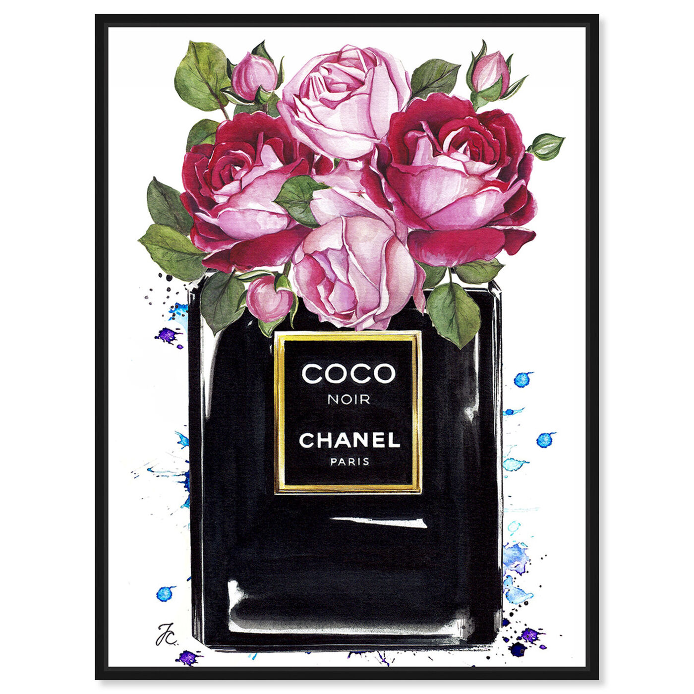 Front view of Doll Memories - Coco Roses featuring fashion and glam and perfumes art.