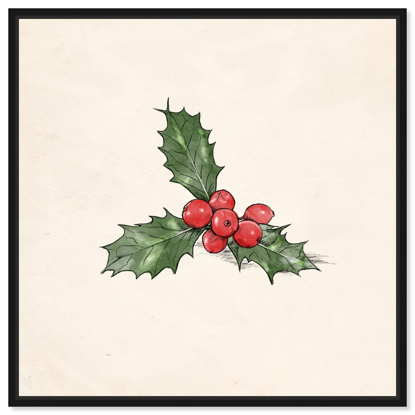 Front view of Mistletoe featuring holiday and seasonal and holidays art.