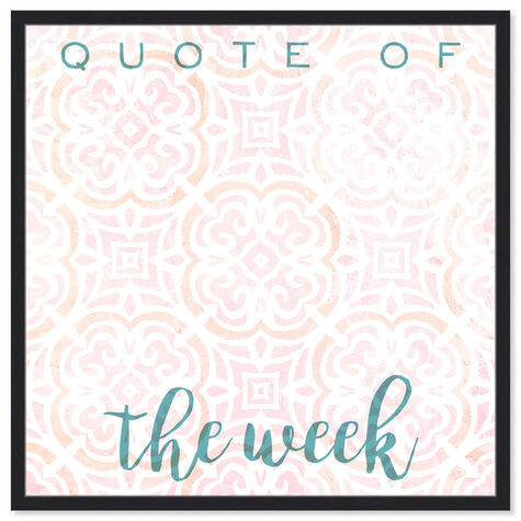 Quote Of The Week Bright