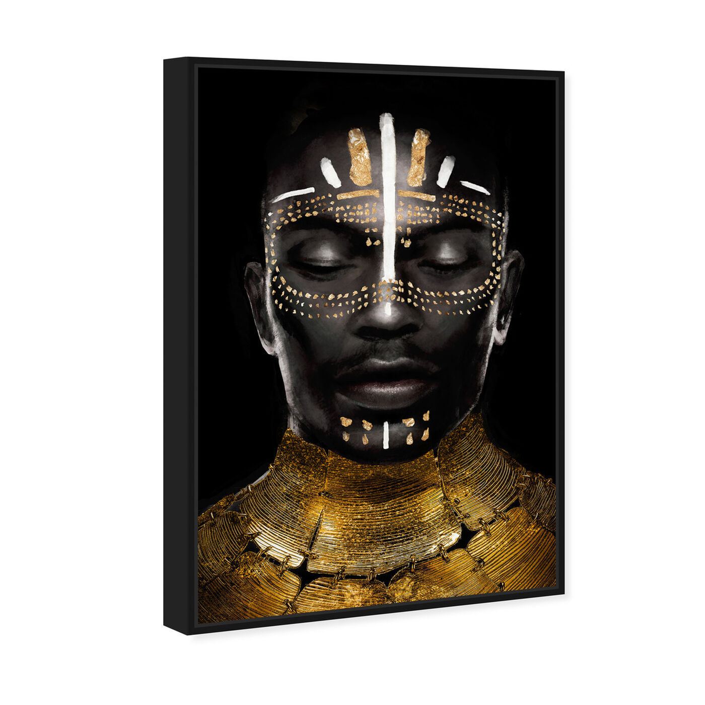 Angled view of Strong Reign of Gold featuring people and portraits and portraits art.