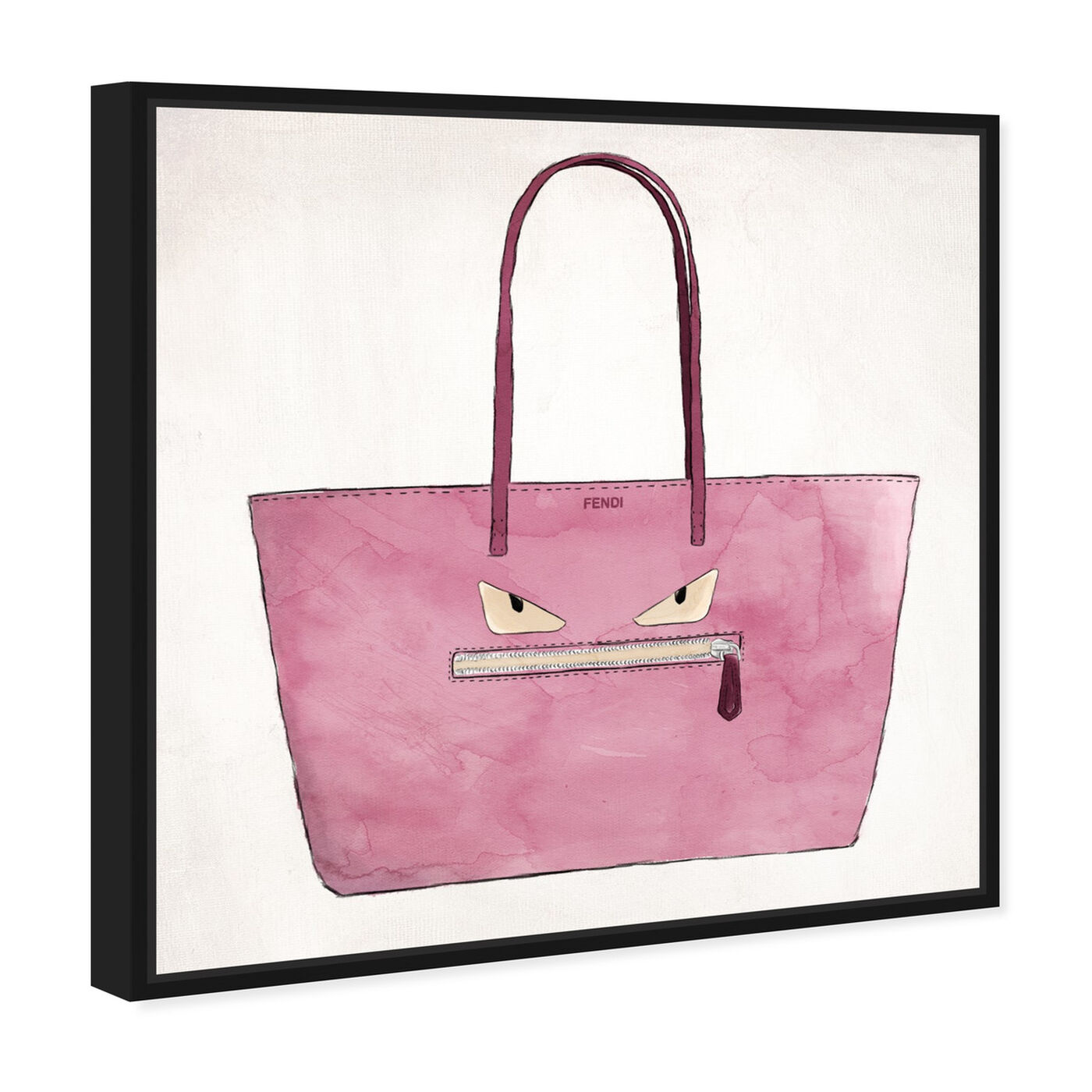 Angled view of Cousin Its Angry Cousin featuring fashion and glam and handbags art.