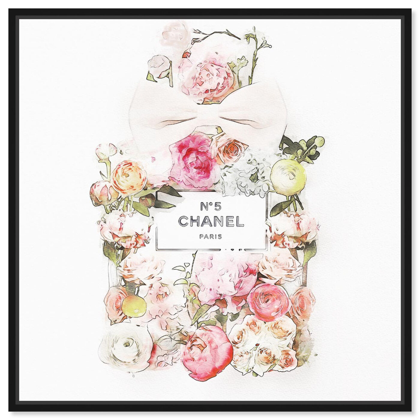 Front view of Blooming Bouquet featuring fashion and glam and perfumes art.