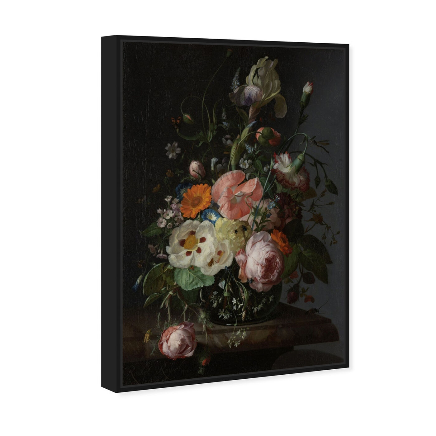 Angled view of Flower Arrangement IV - The Art Cabinet featuring classic and figurative and french décor art.