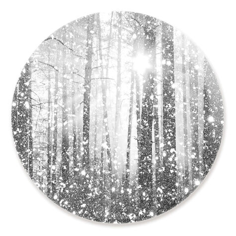 Magical Forest Silver Round
