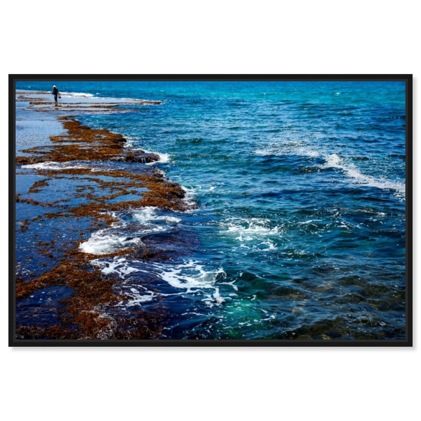 Front view of Sdot Yam Beach featuring nautical and coastal and coastal art.