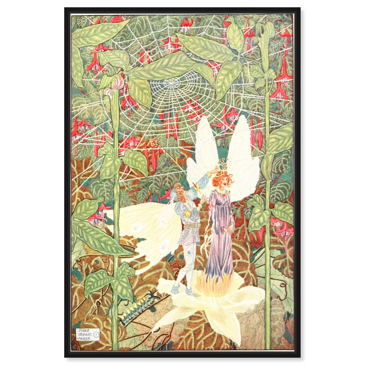 Front view of Andersen Fairy Tales II featuring fantasy and sci-fi and fairy tales art.