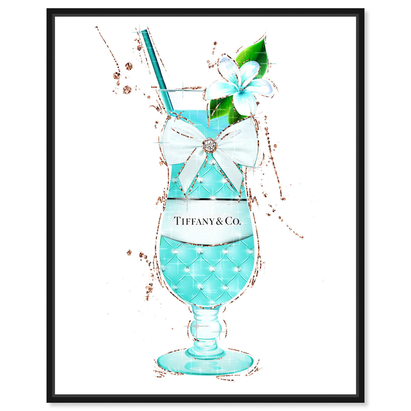 Front view of A Toast for Breakfast featuring drinks and spirits and cocktails art.